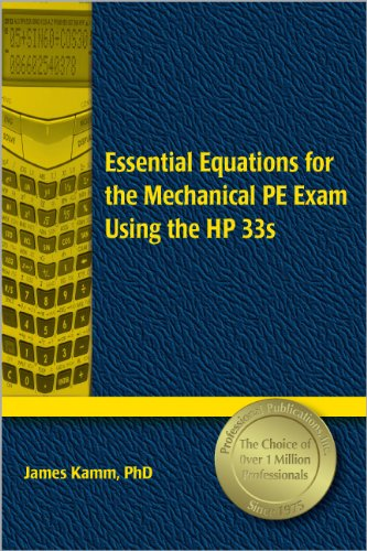 9781591260783: Essential Equations for the Mechanical PE Exam Using the HP 33s