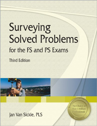 9781591260844: Surveying Solved Problems for the FS and PS Exams, 3rd Ed
