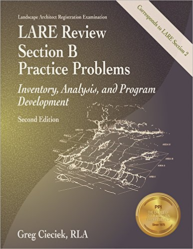 LARE Review Section B Practice Problems: Inventory,: Greg Cieciek RLA