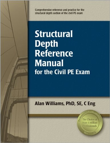9781591260936: Structural Depth Reference Manual for the Civil PE Exam