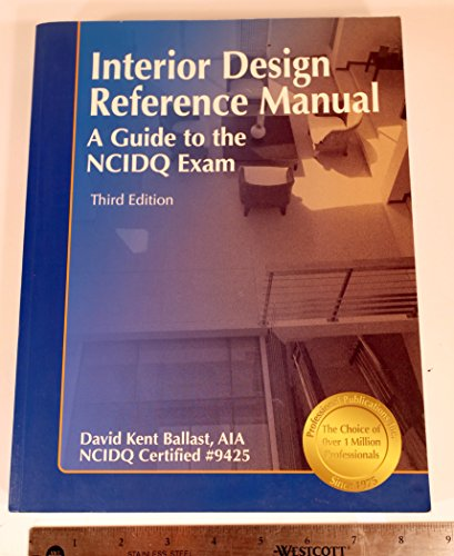 9781591260981: Interior Design Reference Manual, A Guide to the NCIDQ Exam