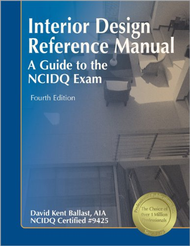 9781591261063: Interior Design Reference Manual: A Guide to the NCIDQ Exam