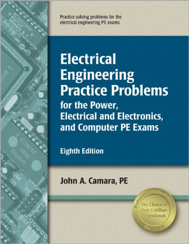 9781591261124: Electrical Engineering Practice Problems for the Power, Electrical/Electronics, and Computer PE Exams