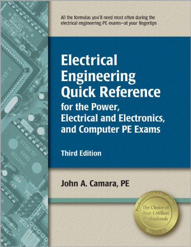 9781591261131: Electrical Engineering Quick Reference for the Power, Electrical and Electronics, and Computer PE Exams