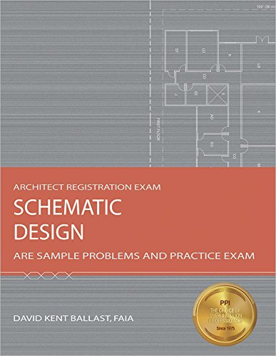 9781591261254: Schematic Design: Are Sample Problems and Practice Exam (Architect Registration Exam)