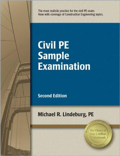 9781591261353: Civil PE Sample Examination