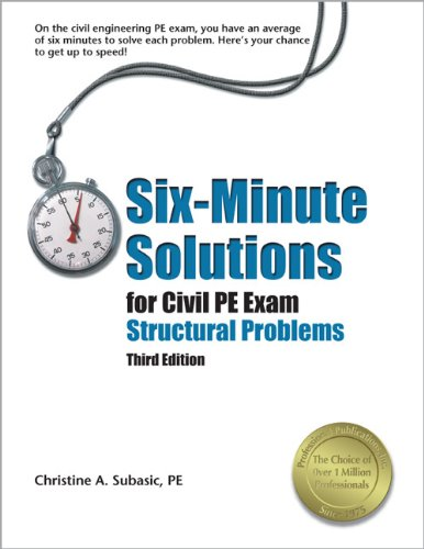 9781591261421: Six-Minute Solutions for the Civil PE Exam Structural Problems