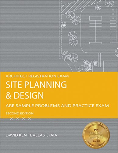 9781591261544: Site Planning & Design: ARE Sample Problems and Practice Exam, 2nd Ed