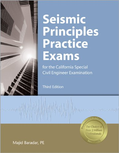 9781591261599: Seismic Principles Practice Exams for the California Special Civil Engineer Examination
