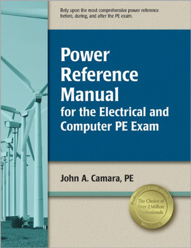 Power Reference Manual for the Electrical and Computer PE Exam: Camara, John A.