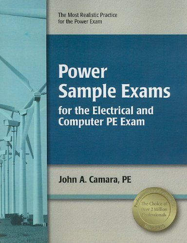 9781591261650: Power Sample Exam for the Electrical and Computer PE Exam