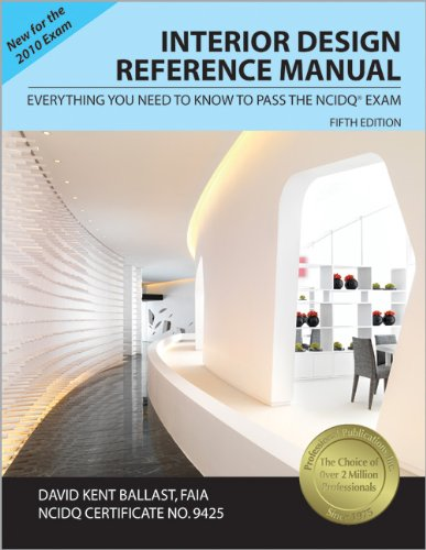 9781591263043: Interior Design Reference Manual: Everything You Need to Know to Pass the NCIDQ® Exam