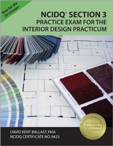 9781591263104: NCIDQ Section 3 Practice Exam for the Interior Design Practicum