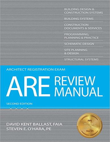 ARE Review Manual (Architect Registration Exam): Ballast, David Kent;