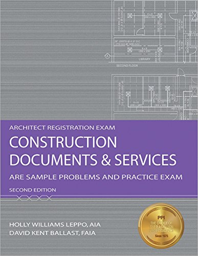9781591263234: Construction Documents & Services: ARE Sample Problems and Practice Exam, 2nd Ed (Architect Registration Exam)