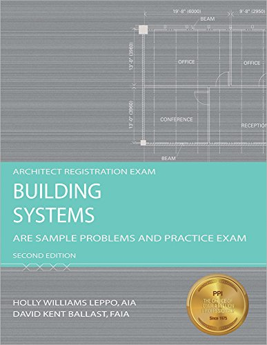9781591263296: Building Systems: ARE Sample Problems and Practice Exam (Architect Registration Exam)