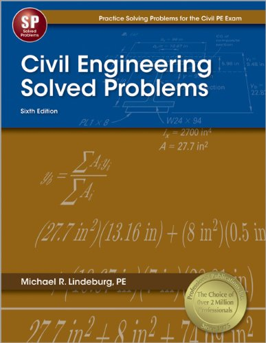 9781591263432: Civil Engineering Solved Problems, 6th Ed