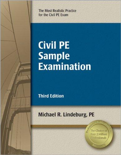 9781591263449: Civil PE Sample Examination