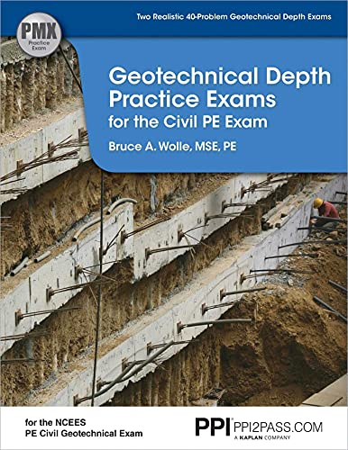 9781591263500: Geotechnical Depth Practice Exams for the Civil PE Exam