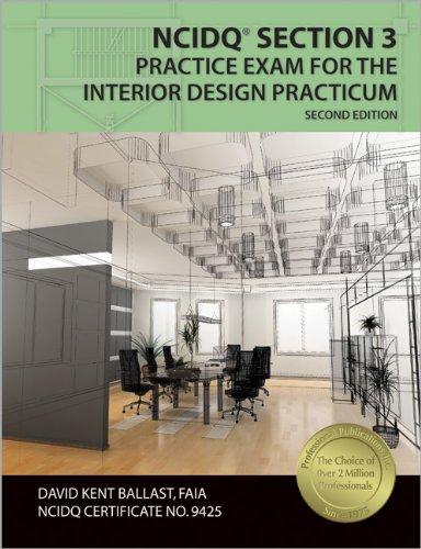 9781591263869: NCIDQ® Section 3 Practice Exam for the Interior Design Practicum
