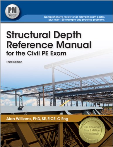 9781591263920: Structural Depth Reference Manual for the Civil PE Exam