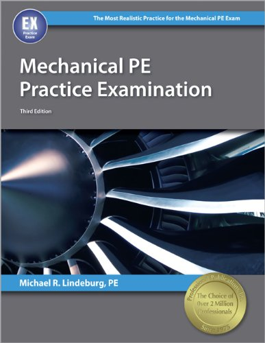 9781591264170: Mechanical PE Practice Examination, 3rd Edition