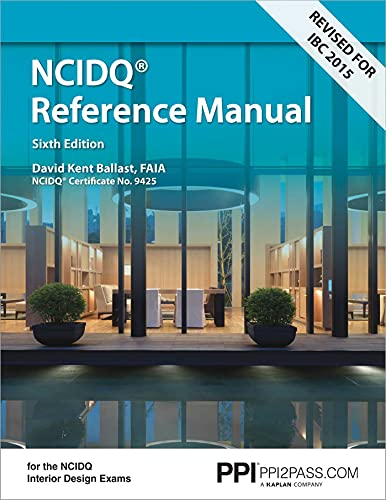 9781591264279: Interior Design Reference Manual: Everything You Need to Know to Pass the NCIDQ Exam, 6th Ed