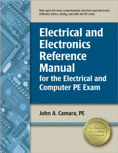 9781591264378: Electrical and Electronics Reference Manual for the Electrical and Computer PE Exam