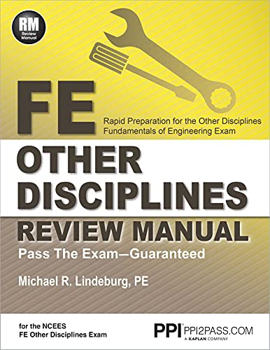 Fe Other Disciplines Review Manual: Lindeburg, Michael R.
