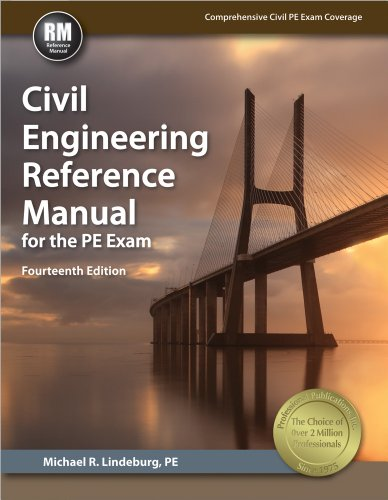 Civil Engineering Reference Manual for the PE Exam (Hardback): Michael R Lindeburg