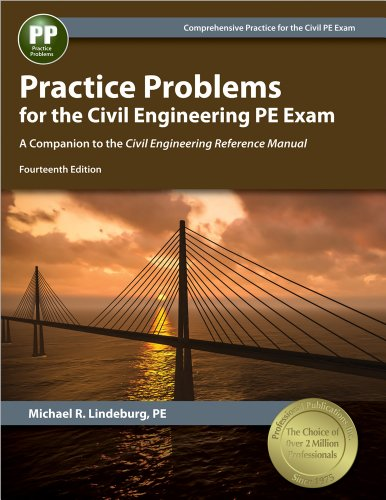 9781591264545: Practice Problems for the Civil Engineering PE Exam: A Companion to the Civil Engineering Reference Manual, 14th Ed