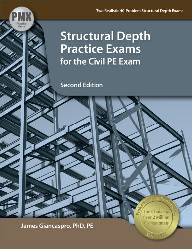 9781591264613: Structural Depth Practice Exams for the Civil PE Exam, 2nd Ed