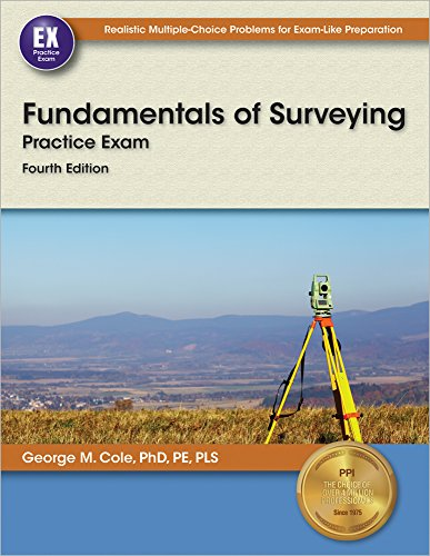 9781591264866: Fundamentals of Surveying Practice Exam, 4th Ed.