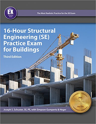 9781591264910: 16-Hour Structural Engineering (SE) Practice Exam for Buildings, 3rd Ed