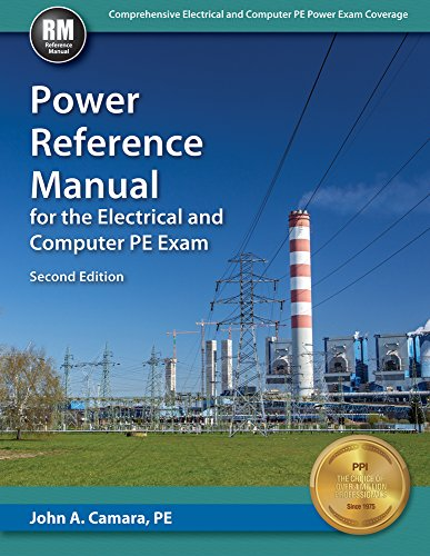 9781591265023: Power Reference Manual for the Electrical and Computer PE Exam Second Edition, New Edition