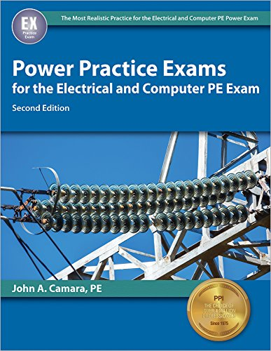 9781591265054: Power Practice Exams for the Electrical and Computer PE Exam