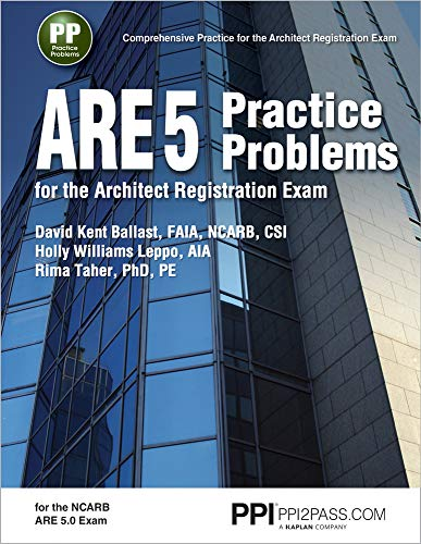 9781591265160: ARE 5 Practice Problems for the Architect Registration Exam