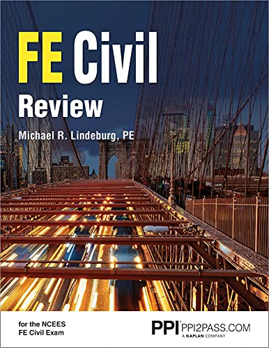 Download PPI FE Civil Review – A Comprehensive FE Civil Review Manual