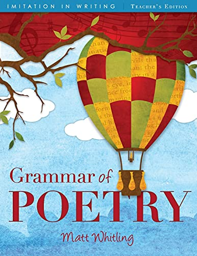 9781591281207: Grammar of Poetry: Teachers Ed