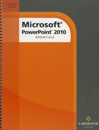 9781591363194: Microsoft PowerPoint 2010: Essentials
