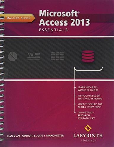 9781591364856: MICROSOFT ACCESS 2013:ESSENTIA