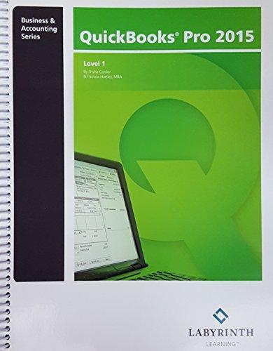 Quickbooks Pro 2015,level 1