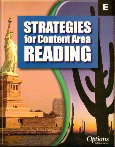 9781591370321: Strategies For Content Area Reading Level E