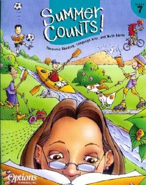 Summer Counts!: Thematic Reading, Language Arts, and Math Skills - Grade 7