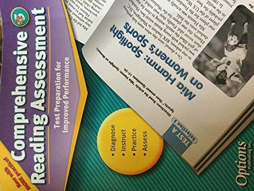 9781591372691: Comprehensive Reading Assessment: Test Preparation for Improved Performance