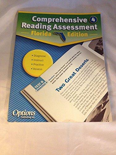 9781591373476: Comprehensive Reading Assessment Florida Edition Grade 4