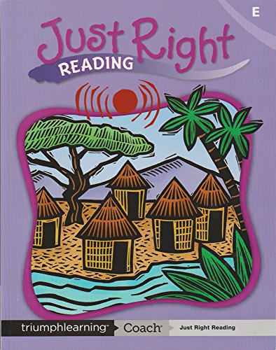 9781591375265: Just Right Reading Student Worktext (LEVEL E)