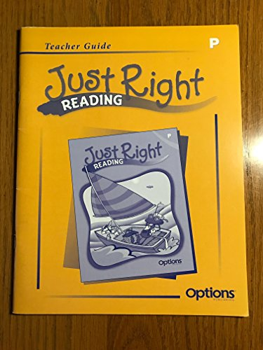 9781591376040: Just Right Reading Teacher's Guide (LEVEL P)