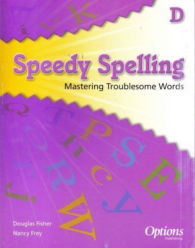 9781591378693: Speedy Spelling: Mastering Troublesome Words (D)