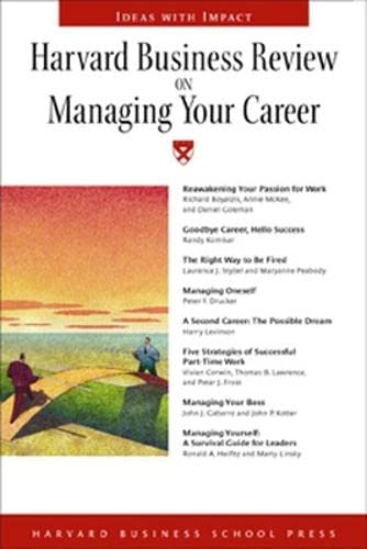 """9781591391319: Harvard Business Review on Managing Your Career (""""Harvard Business Review"""" Paperback S.)"""